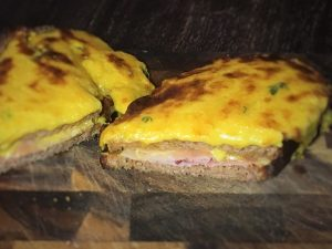 Croque Monsieur Benedict Sandwich Germanabendbrot