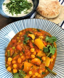 Rezept Nariyal Sabjee veganes Curry Indien German Abendbrot