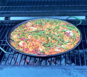 Paella Grill Rezept Step by Step Anleitung Foodblog German Abendbrot