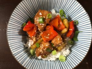 Sticky Orange Chicken Wok Rezept German Abendbrot