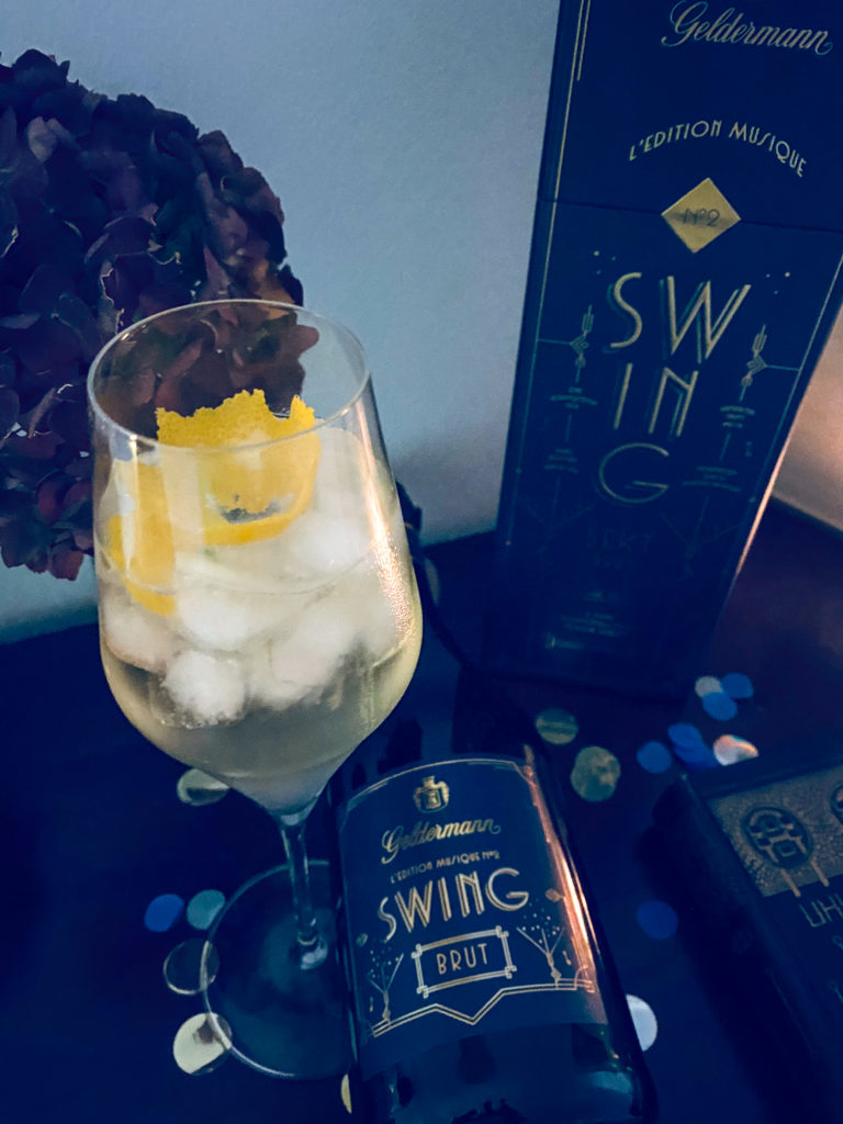Sekt Swing Geldermann French 75.